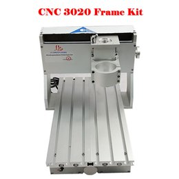 Wholesale Cnc Machines Stepper Motors - 3020 CNC frame of Engraver, Engraving Drilling and Milling Machine Without stepper motor