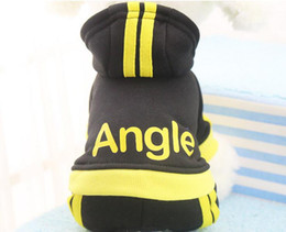 Wholesale Green Bear Costumes - Pet Dog Clothes For Small Dogs Cotton Puppy Coat Hoodies Outfit for Dogs Winter Clothes Pajamas Love Bear Costume Dog Supply 35