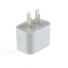 Wholesale Single Usb Ports - High Quality 5V 2A Wall Charger US Plug AC Power Adapter Home Travel Wall single port USB Charger for iPhone 5 6 7 Samsung HTC new design