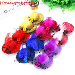 Wholesale Mini Feather Clip Hat - 2017 Hot selling girl feather hair clips women hair accessories mini top hat flower hairclip 7cm free shipping