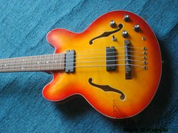 Wholesale Best China Bass Guitar - Honey 5 Strings BB2 Hollow Electric Bass New Arrival China Bass Guitars Best Selling