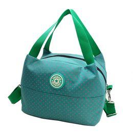Wholesale Polka Dot Totes - Wholesale-2016 Famous Brands Women Bag Polka Dot Shoulder Bag Ladies Big Canvas Bag Tote Waterproof Women'S Messenger Bags Bolsa Feminina