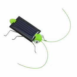 Wholesale Toys 34 - Wholesale-Creative Fun Solar Power Robot Insect Locust Grasshopper Kids Educational Toy Store 34