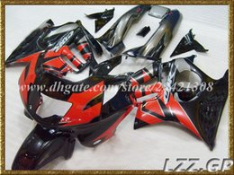Wholesale 98 F3 - black red for Honda CBR600 F3 1997 1998 CBR600F3 1997-1998 CBR600 F3 97-98 fairing sets+gifts #d9l12 abs fairings