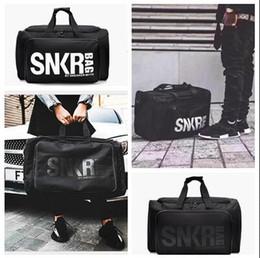 Wholesale Foldable Handbag Bags - Handbags Women Ployester Designer Bags Men Fashion Large Capacity Waterproof Fitness Gym Foldable Ployester Travel Duffle Sport Crossbodybag