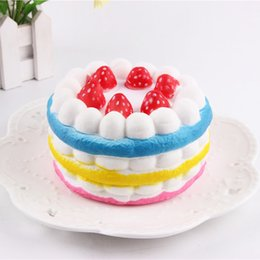 Wholesale Dessert Toys - Hot Modelize Baby Favorite Dessert Fruit Cream Rainbow Cake Squeeze Hand Lepin Anti Autism and ADHD Time Killer Kids Toys