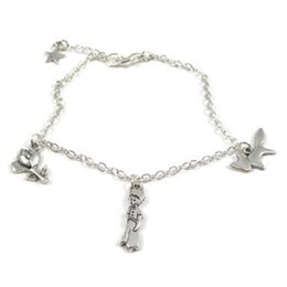 Wholesale Prince Jewelry - 12pcs The Little Prince Minimalist Charm Bracelet Le Petit Prince charm bracelet jewelry