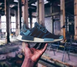 Wholesale Exotic Shoe - 2017Wholesale New Originals NMD Runner R1 Primeknit Exotic color sports shoes,Nmd Chaussure running shoes, young men and women