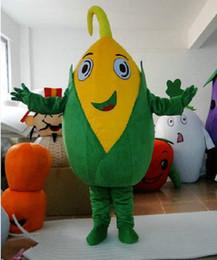 disfraz de maiz Rebajas Maíz berenjena calabaza pimiento dibujos animados muñecas trajes de la mascota accesorios disfraces de Halloween envío gratis