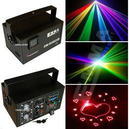 Wholesale Laser Beam Party Lights - 1.5w rgb laser beam and animation ,DMX ,party light KTV light laser projector stage lights emma laser