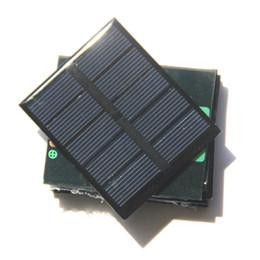 Painéis solares para brinquedos on-line-Alta Qualidade 0.5 W 2.5 V Painel Solar Módulo de Célula Solar Painel de Brinquedo DIY Policristalino Painel de Célula Solar Epóxi 58 * 70 * 3 MM 5 pçs / lote Frete Grátis