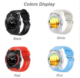 Wholesale Arrival Tracker - New Arrival V8 Smart Watch Phone Bluetooth 3.0 IPS HD Full Circle Display MTK6261D Smartwatch VS GT08 DZ09