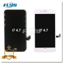 Wholesale Replacement Screen Glass - Quality Grade AAA+++ LCD Display For iPhone 7 LCD Screen Touch Glass Screen Digitizer with 3D touch Full Assembly Replacement DHL Free