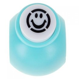 Wholesale Mini Paper Shaper Punch - Wholesale- SOSW-Mini Card Scrapbooking Craft Punch Paper Shaper--Smile Face