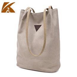 Wholesale Wholesale Genuine Leather Bags - 2017 New canvas handbags tote bags for women shopping bag single shoulder bags fresh and fashion school style students