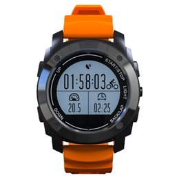 Wholesale Pressure Altimeter - Wholesale- Smartch S928 Sport Smart Watch GPS Outdoor Sport Professional Heart Rate Monitor Pressure Altimeter Smart band For IOS Android