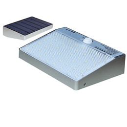 Wholesale Solar Powered Outdoor Spot Lights - 48 LED Solar Powered Panel LED Street Light Solar Sensor Lighting Outdoor Path Wall Emergency Lamp Security Spot Light