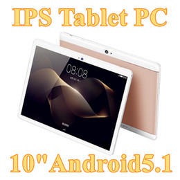 "pc bluetooth gps Promo Codes - 2017 DHL 10"" inch MTK6580 Qual Core 1.5Ghz Android 5.1 3G Phone Call tablet pc GPS bluetooth Wifi Dual Camera 1GB 16GB G-10PB"