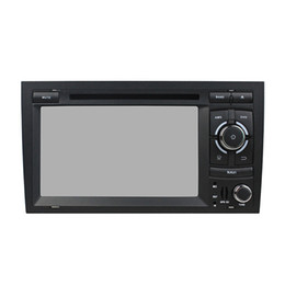 Wholesale Dvd Gps Audi A4 - Andriod 5.1 HD Screen Car DVD player for Audi A4 with GPS,Steering Wheel Control,Bluetooth, Radio