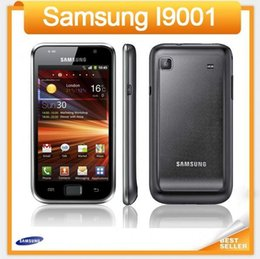 Wholesale Galaxy S Accessories - Original I9001 Samsung I9001 Galaxy S Plus Unlocked Cell phone Wifi GPS 5MP Camera GSM WCDMA 4.0 Touch Phone refurbished