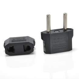 Wholesale Power Euro - USA Australia USA US AU to EUROPE EU EURO Power Plug Converter Travel Adapter