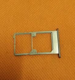 cartão sim usado Desconto Atacado-Usado Original Sim Card Holder Bandeja Slot Para Cartão Para Elephone M2 4G LTE MTK6753 Octa Núcleo 5.5