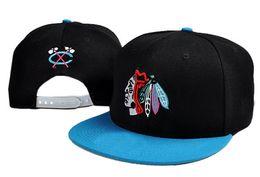 Wholesale Adult Chicago - 2017 New Arrived NHL Chicago Blackhawks gorras planas Hat Adjustable Baseball bones aba reta Snapback Hockey Cap Adjustable Hiphop chapeu