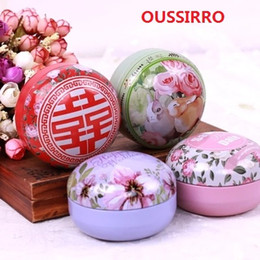Wholesale Tin Tea Sets - 10PCS SET Europe Style High Quality Tin Box Multi-use Case Candy or Tea Can Set Home Storage Hot Selling wedding Candy Box