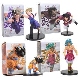 Wholesale Dragon Ball Z Big Toys - Anime Dragon Ball Z Figure Super Saiyan Son goku Gohan hercule Mark Broly scultures big Action Figure Model toys doll