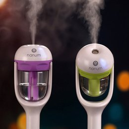 Wholesale Aroma Diffuser Purifier - Nanum Car Plug Air Humidifier Purifier,Vehicular essential oil ultrasonic humidifier Aroma mist car fragrance Diffuser 4 Colors Package