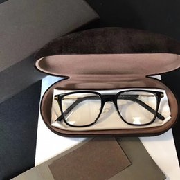 Wholesale Square Shaped - 5471 Fashion Luxury Brand Glasses Square Shape Retro Vintage Men Women Designer With Original Package Full Frame Glasses Wayferer Model Case