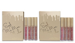 Wholesale Nude Matte Lipstick - Kylie Jenner Lip Kit Lipgloss Set KOKO Kollection Set Send me more Nude In Love With Koko Holiday Edition Matte Liquid Lipstick Set