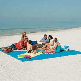 Wholesale Travel Picnic Blanket - Magic Sand Free Mattress Mat Beach Mat Summer Large Outdoor Travel Camping Mat Portable Picnic Pad Picnic Blankets 200*200cm