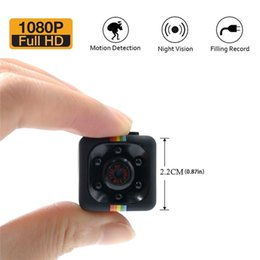 Wholesale Hidden Cam For Home - 1080P Mini Spy Cam Hidden Camera Portable HD Nanny Cam with Night Vision Motion Detection for Home Office Security Surveillance Camera SQ11