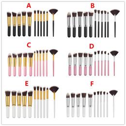 Wholesale Wholesale Orders Hair - 11pcs set Makeup Brushes mini type Foundation Blending Blush Make up Brush Beauty tool Kit Set Can mix order B1101 DHL 30Set