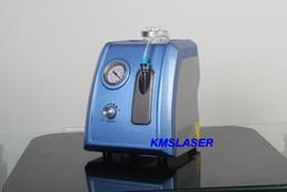 Wholesale Crystal Peeling Machine - 70Kpa 3 handles microdermabrasion handles diamond dermabrasion crystal peel facial care spa use skin cleansing machine