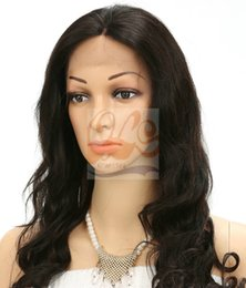 """Wholesale Human Lace Wigs Wholesale - Free Shipping New GrantSea Front Lace Celebrity Hairstyle 14""""-24"""" color Human Hair Wigs Human Hair Wig Front Lace Wig GS800057"""