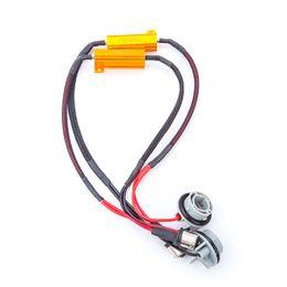 Wholesale 1156 Error - 50W Car LED Load Resistor 1156 BA15S P21W Excellent Quality Canbus Error Canceller Decoder No Flickering Decoder