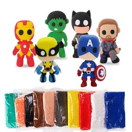 Wholesale Super Light Clay - Super light clay Cartoon handwork DTY clay playdough children's toys educational toys the best gift for children 5-10