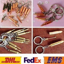 Wholesale Bullet Keychains - Bullet Key Rings Keychains Creative Mini Gadget Metal Artificial Keychain For Phone Handbag Pendant Souvenirs Gifts 6 Styles PX-K07
