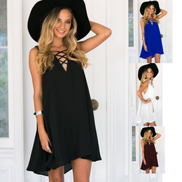 Wholesale Ice Silk Dresses Plus Size - Cheapest Summer Dress Floral Print Vintage Women Plus Size Milk Silk Casual Sexy Dress Ice Silk Print Short Beach Dress