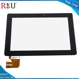 Wholesale Transformer Pad Replacement Screens - Wholesale- R&U touch Screen outside screen Digitizer Glass Replacement For Asus Transformer Pad TF300 TF300T TF300TG TF300TL 69.10I21.G03