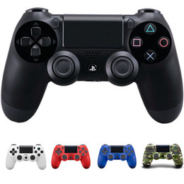Wholesale Free Computers - Wireless Bluetooth ps4 controller Game Controller for PlayStation 4 PS4 Joystick for Android Video computer Games 7 colors Free DHL