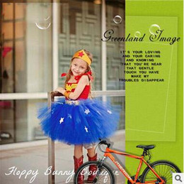 Wholesale Halloween Costumes For Sale - Hot Wonder woman Costume Kids Girls Cosplay Clothing Wonder Women Dress Performance Costume for Little Girl High Quality For Sale