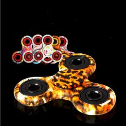 mordaça plástica Desconto Flame Tri Spinner Mão Fidget Brinquedo De Plástico Spinner EDC Giroscópio Dedo Gags Brinquedos Anti Stress Brinquedos Para O Autismo e TDAH crianças brinquedo YH798