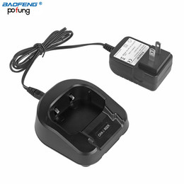 Wholesale Two Way Radio Charger - Wholesale- Baofeng UV-82 100-240V Battery Charger CH-8 For Walkie Talkie Baofeng UV-82 UV-89 UV-8D UV-83HP Two Way Radio EU or US Plug