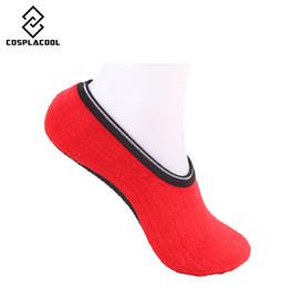Wholesale Socks Slippers Warm Women - Wholesale- [COSPLACOOL] Fit Size 35-40cm Thicken warm socks solid color Plush Room Yogo sock elastic Floor socking slippers