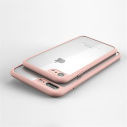 Wholesale Iphone Cover Stock - SLIM THINNEST Crystal Clear Bumper TPU Ultra Thin Case Cover For IPhone 7 6 6S Plus In Stock