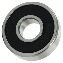 Wholesale Ball Bearing Abec - Wholesale- 10pcs 608-2RS 608RS 608 2RS ABEC-7 8mm x 22mm x7mm Black Double Rubber Sealing Cover Deep Groove Ball Bearing