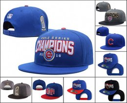 Wholesale Cheap Snap Back Hats - 2016 World Series Champion Cubs Hat Adjustable Snapback Hats CHICAGO CUBS Snap Back Caps Cheap Baseball Hats